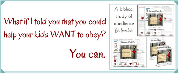Because it's not impossible to teach your children to WANT to obey!