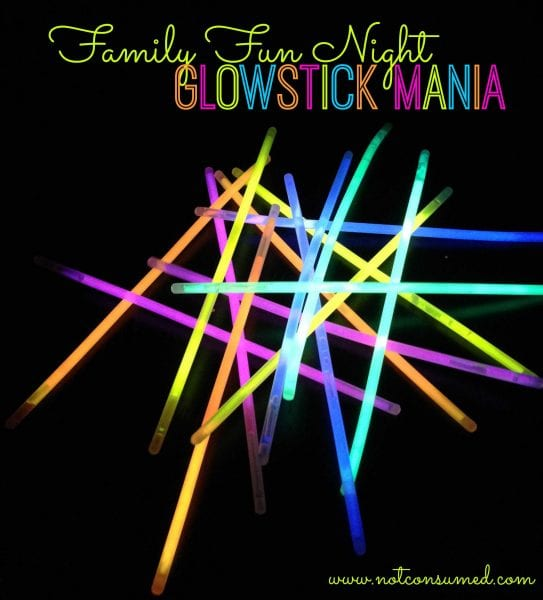 Family Fun Night: Glowstick Mania. 6 fun ways to get glowing. You've never had so much fun in the dark!