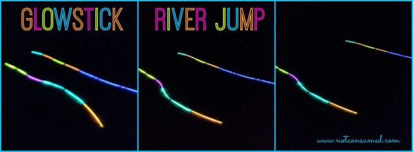 Glowstick River Jump...family fun for all ages!
