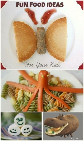Fun food to make your family dinners memorable!
