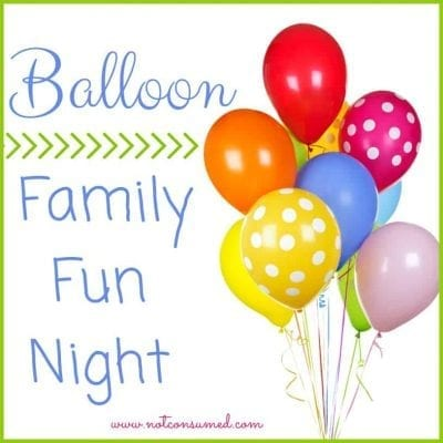 Family Fun Night with Balloons