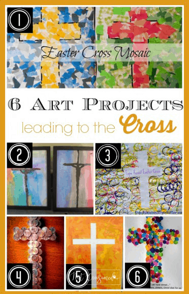 Easter cross art activities