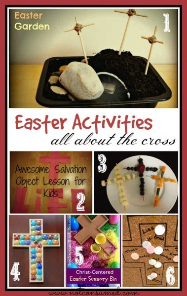 Easter Activities for kids that will lead them to the cross.