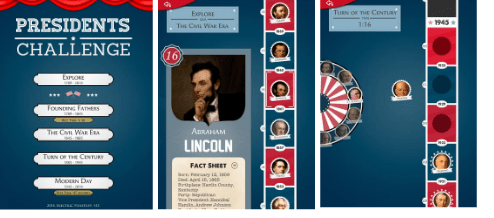 Brush up on the presidents with this fun app. Great for Classical Conversations.