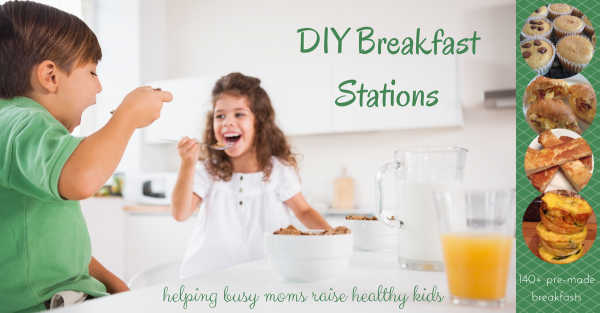DIY Breakfast Stations