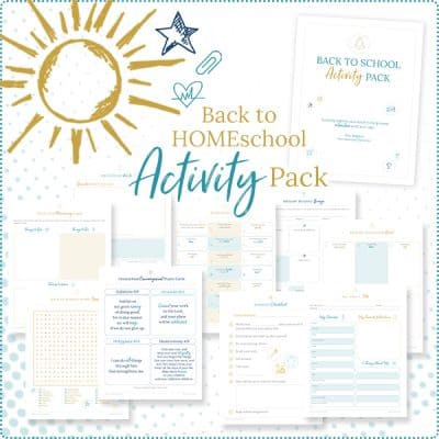 Back-to-school Activities Pack Printables