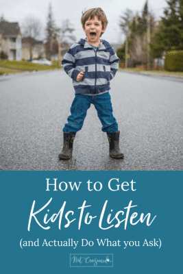 how to get kids to listen