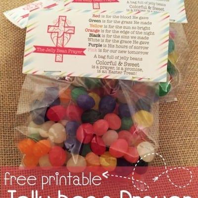 Jelly Bean Prayer Printables