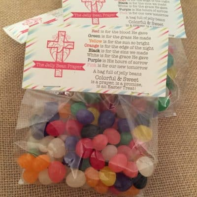 Free Jelly Bean Prayer Printable & Fun Ways You Can Use It