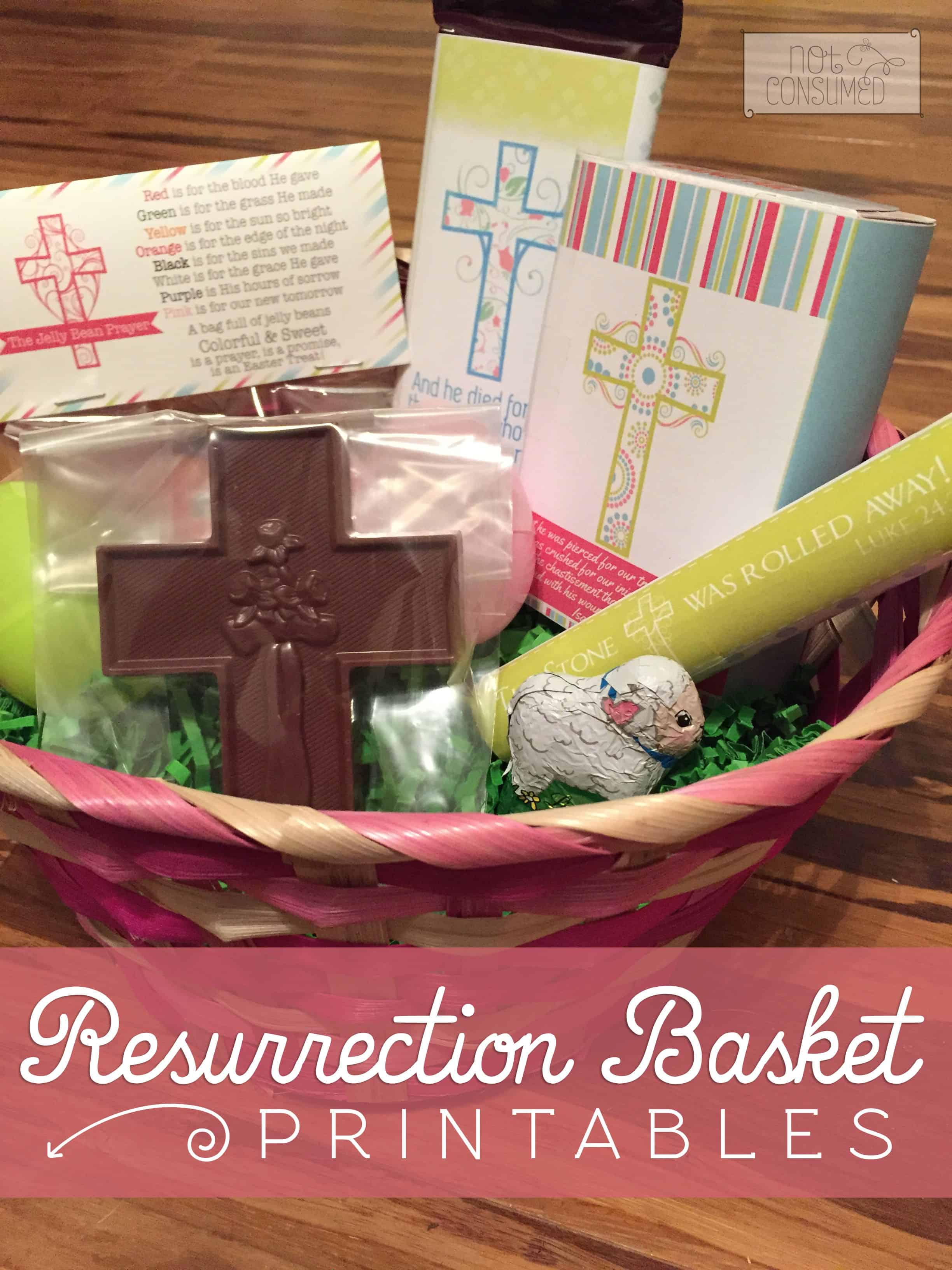 Resurrection basket printables negle Images