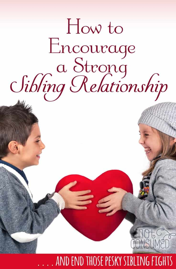 How to Encourage a Strong Sibling Relationship
