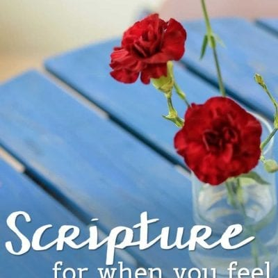 Scripture For When You Feel Overwhelmed