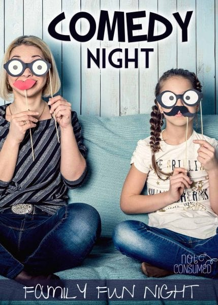Everyone needs a little laughter in their life. This family fun night will get the whole crew laughing. It's frugal, simple, and sure to bond your family through hysterical memories.