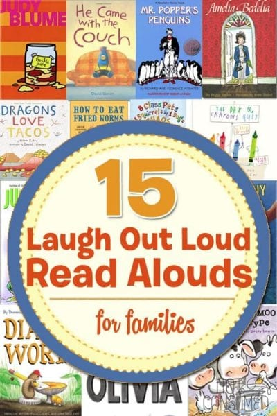 Laughter is always the best medicine. Grab one of these hilarious read-alouds and laugh out loud with your kids today! Funny chapter books and silly picture books included!