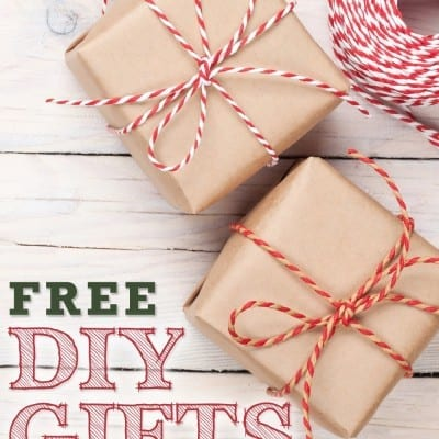 FREE DIY Gifts to Make in Minutes