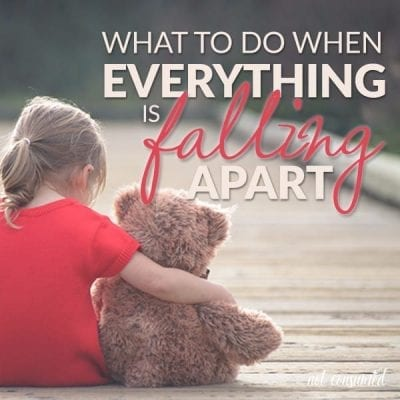 What to do when everything is falling apart
