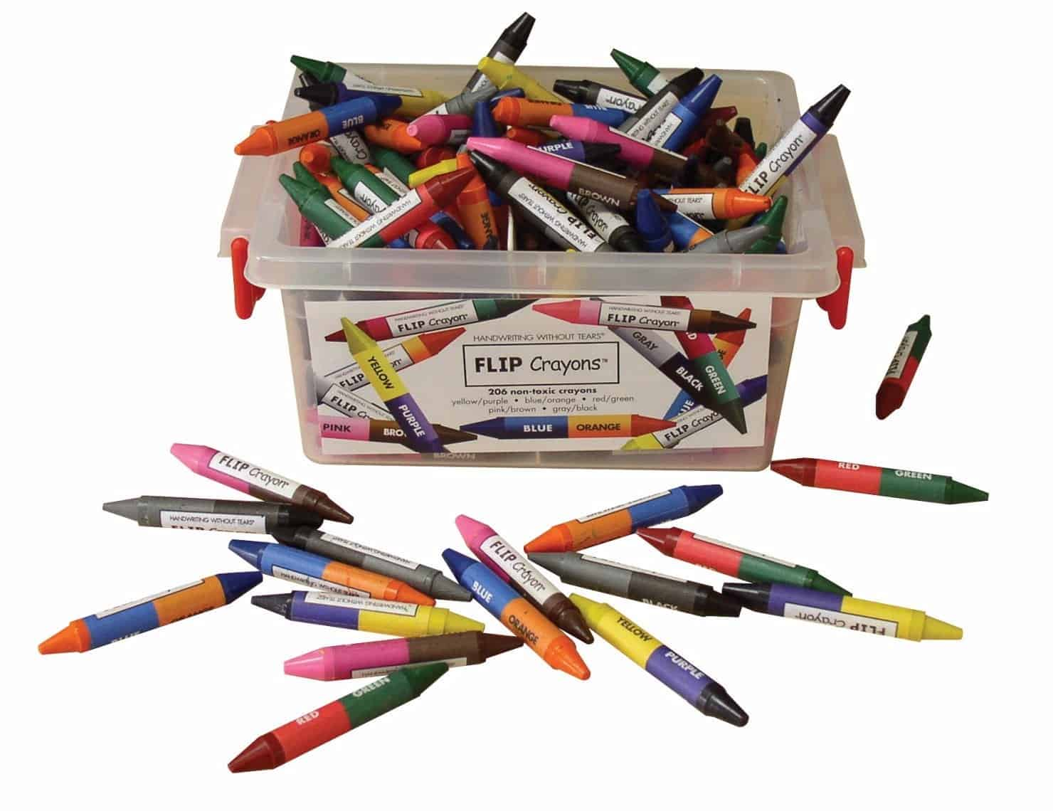 handwriting tools: the best crayons on the market
