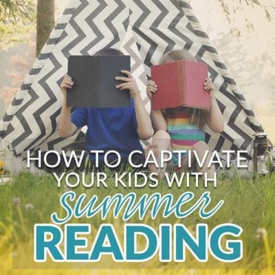 How to Captivate your kids with a Summer Reading Challenge