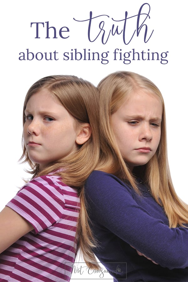 Are your kids fighting... STILL? Yeah, we've been there too. It's time we face the truth about why our kids struggle to get along and learn how we can help.