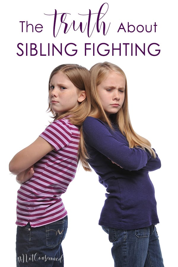 Still trying to conquer sibling fighting? Yeah, we've been there too. There's help.