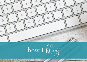 How I Blog: The resources that make it all work