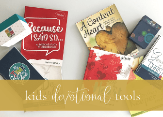 Helping kids develop devotional habits