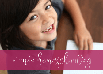 Want some practical tips for simple homeschooling?