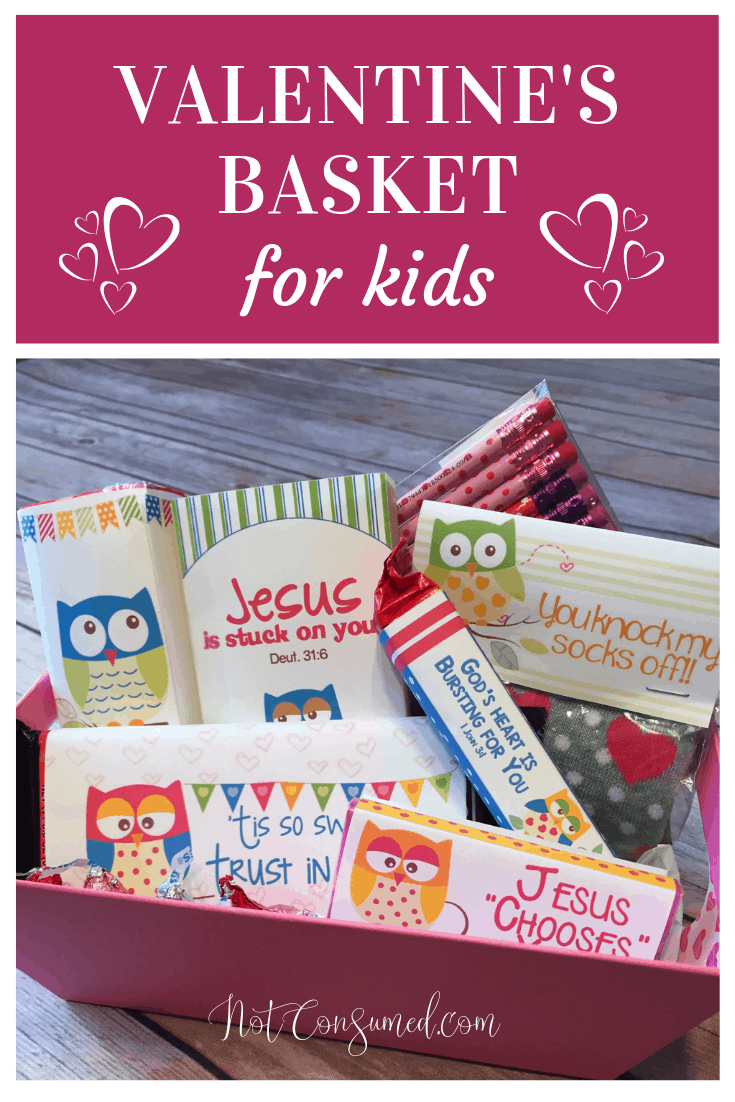Looking for something special for Valentine's day this year? Everything you need to make a sweet memory in your child's heart is included! This valentine's basket of God's love will absolutely thrill them. Not to mention, remind them of how truly loved they are! Free printables included.