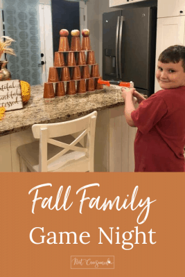 fall family game night