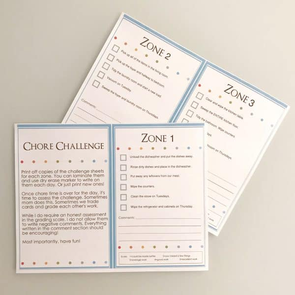chore challenge