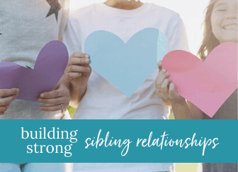 Want help cultivating sibling relationships? Check out these resources.