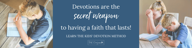 devotions for kids course ad