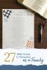 27 Bible Verses to Memorize
