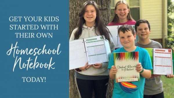 How to create a homeschool notebook