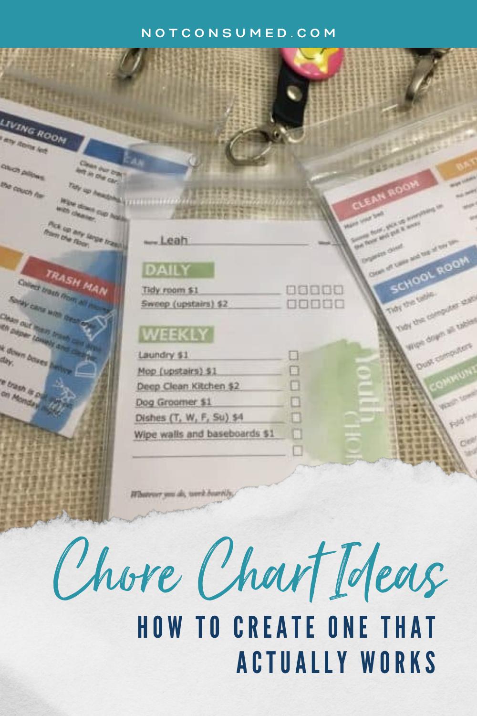 chore chart ideas
