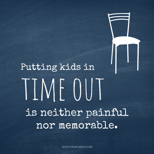 Putting kids in Time Out